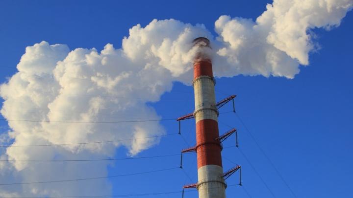 В Архангельске спасатели потушили горевшую ТЭЦ