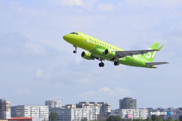 У «Сибири» в этом сезоне будет три регулярных рейса: в Москву, Санкт-Петербург и Новосибирск