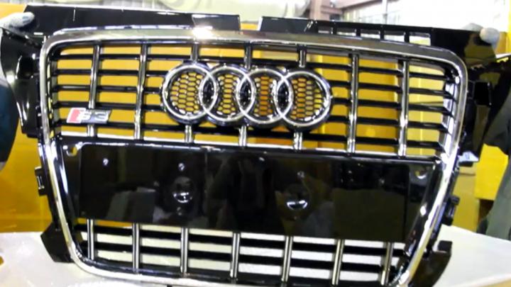 Под Самарой задержали грузовик с поддельными решетками для Audi
