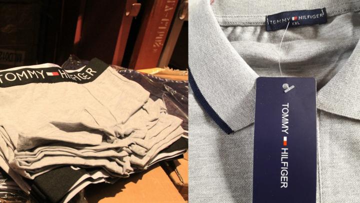 Трусы и футболки: в Самарскую область пытались ввезти паленые брендовые вещи