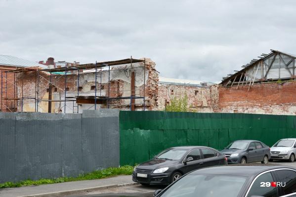 Реставрацию должны завершить в течение 450 суток с момента получения разрешения на работы