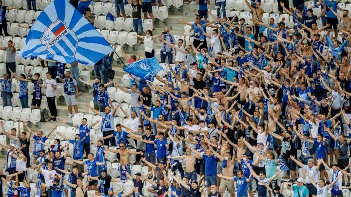 Волгоградский «Ротор» играет с «Динамо» в Москве