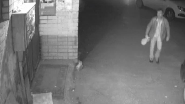 В Самаре ищут поджигателя авто: видео