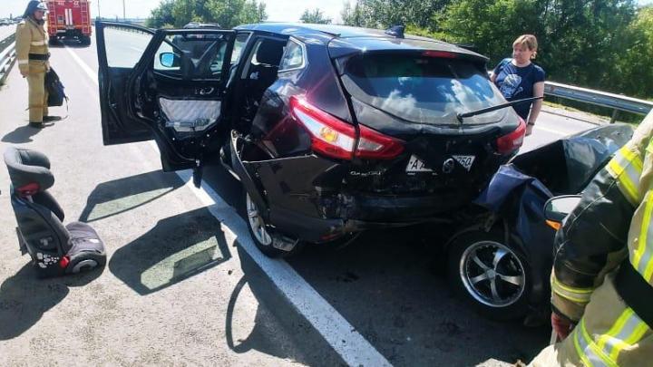 Двое детей пострадали в ДТП под Ростовом
