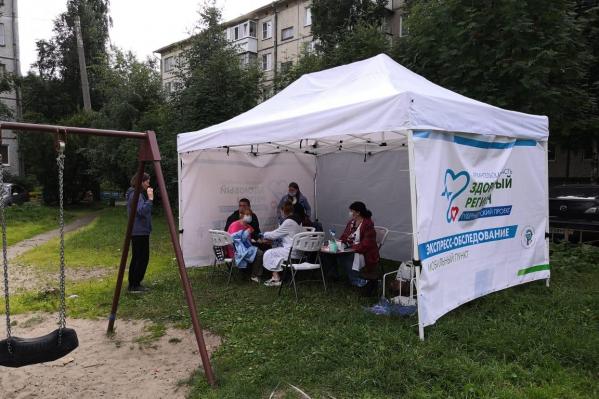 16 августа в городе будет открыто около 20 таких палаток