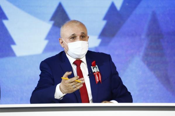 Сергей Цивилев заявил, что добивается наращивания объёмов экспорта в восточном направлении