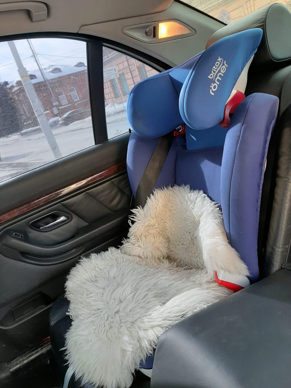 Девочку спасло кресло