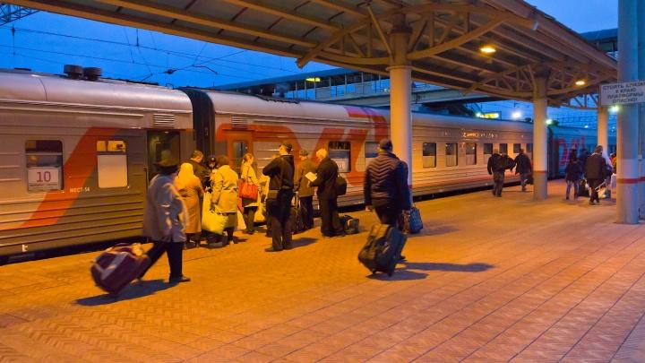 Из Челябинска запустят дополнительный поезд в Москву, он будет идти через Курган