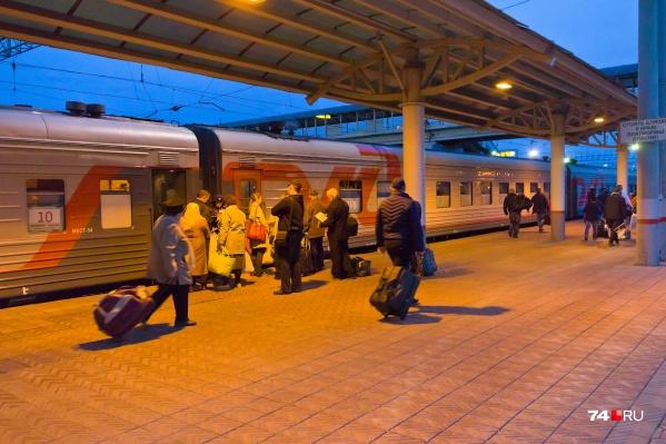 Курсировать дополнительный поезд начнёт в октябре
