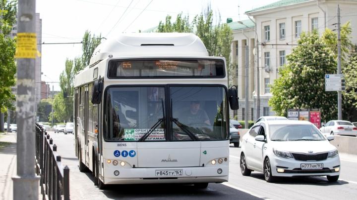 Общественный транспорт Ростова перешел на обычный график работы
