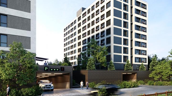 Жилых комплексов у метро много, этот отличается от всех: квартиры продают от 14675рублей в месяц