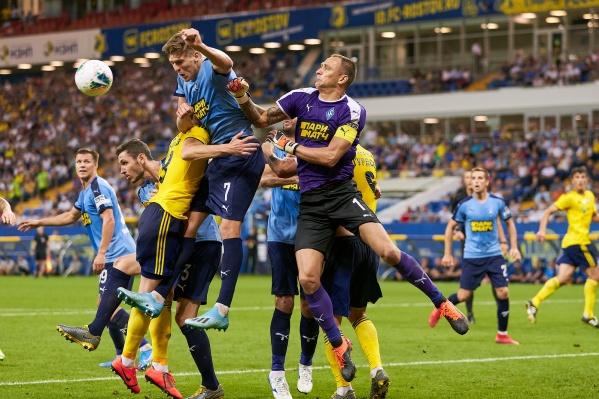 Матч первого круга завершился минимальной победой «Ростова» — 1:0