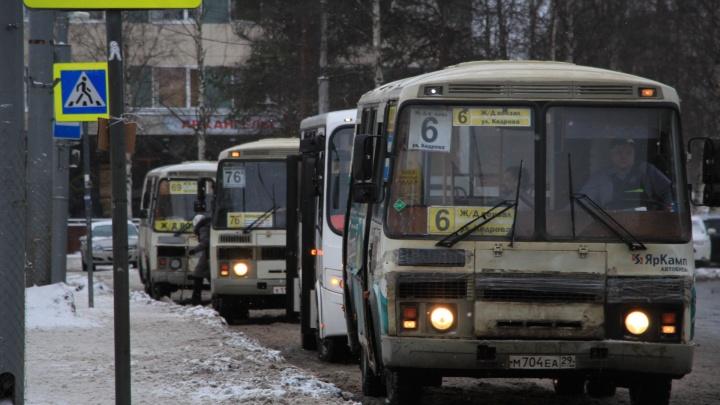 В Архангельске из-за коронавируса снизился поток пассажиров и по-другому обрабатывают автобусы