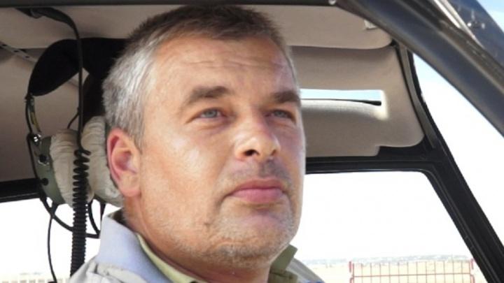 Обнаружено тело главы «Аэросоюз-Волгоград», погибшего при крушении вертолёта в Астраханской области