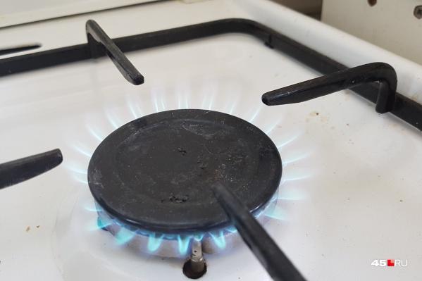 Газ обещают вернуть к вечеру
