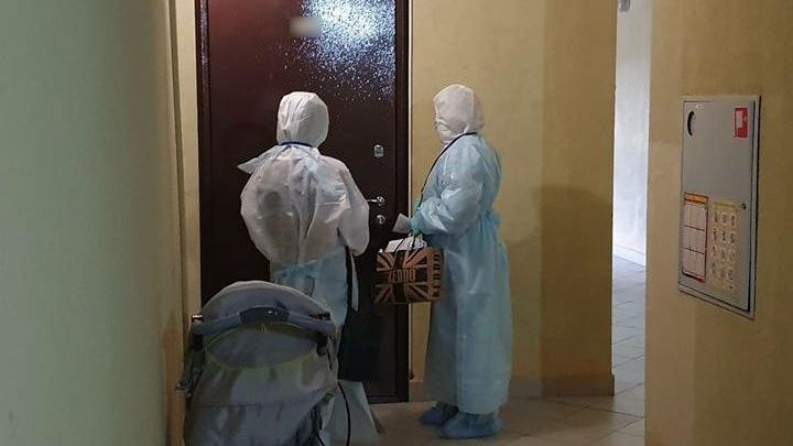 В доме у автовокзала целый подъезд попросили до мая не выходить на улицу из-за заболевшего COVID-19
