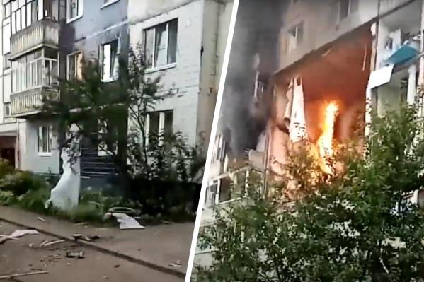 Люди в панике выбегали из дома и пытались дозвониться родным и спасателям