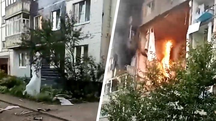 Люди выбегали в трусах: что происходило у взорвавшегося дома в первые минуты. Видео