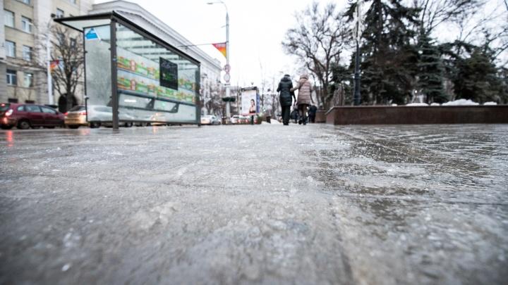 В Ростовской области ожидаются сильный ветер и мокрый снег