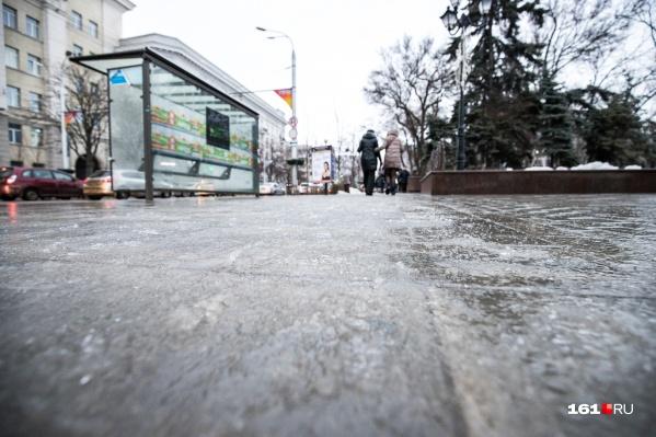 По прогнозу синоптиков, дороги в Ростовской области покроются льдом