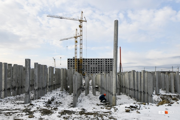Строительство первой секции общежития почти завершено