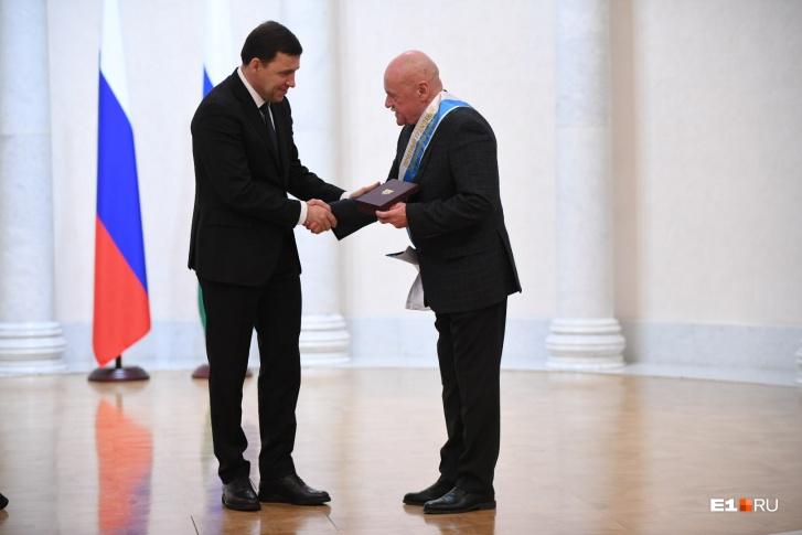 Экс-декан журфака УрФУ Борис Лозовский стал почетным гостем мероприятия