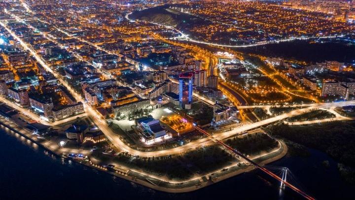 Фотограф из Новосибирска показал фото Красноярска с высоты птичьего полета