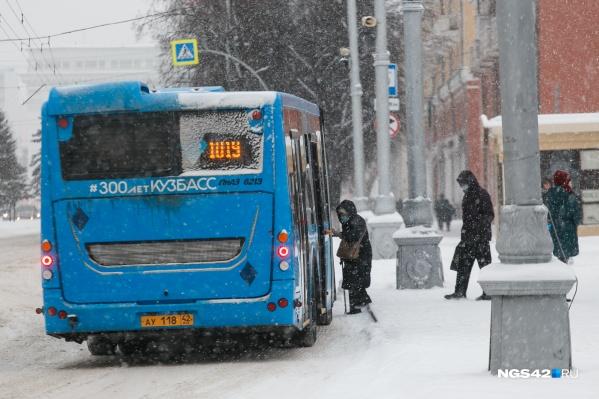 Мэр города говорит, что проблем в Кемерово с общественным транспортом очень много