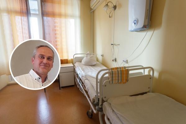 Евгений Спрынга выписался из больницы с плохим состоянием печени, но оставаться в ковидном госпитале он не хотел ни одной лишней минуты
