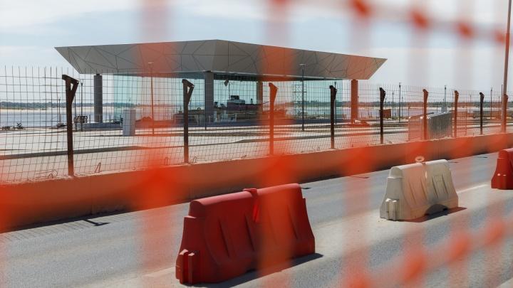 Железный занавес еще не пал: показываем масштабную стройку на волгоградской набережной