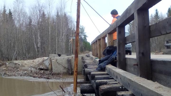 Возле моста через реку Ижма в Архангельске срочно укрепят грунт