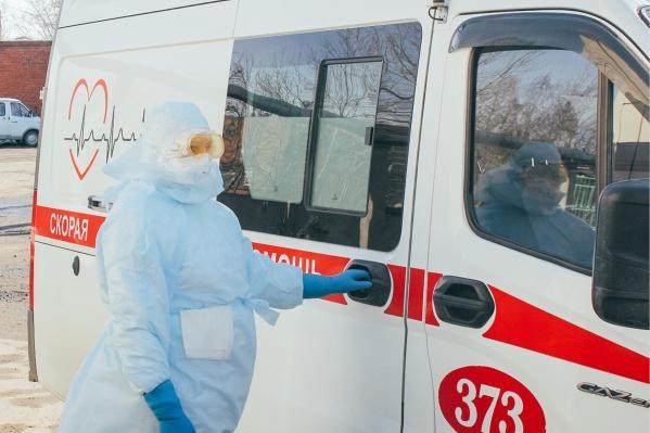 Пациентов с подозрением на коронавирус отвозят в 40-ю больницу