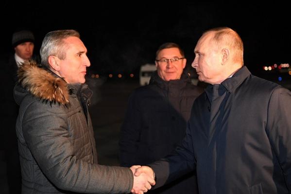Путин и Моор встретились сегодня в Тобольске