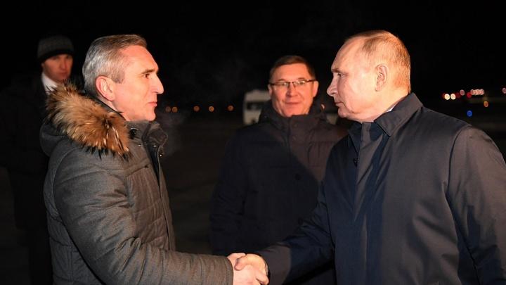 «У вас, кроме ковида несчастного, еще и ВИЧ имеет место»: Путин назвал проблемы Тюменской области