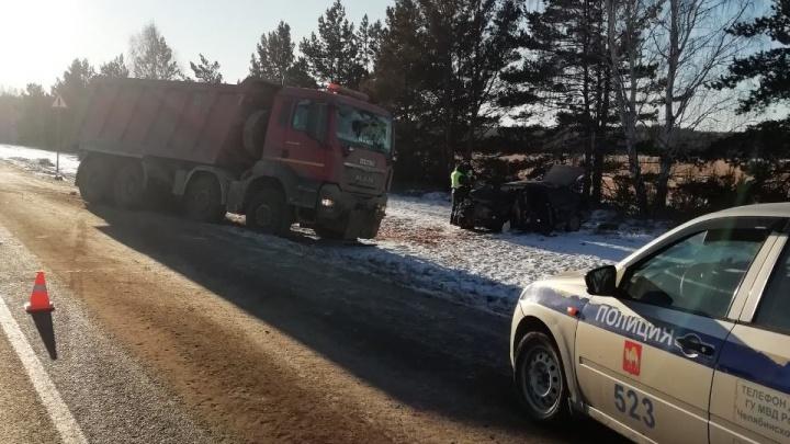 Водитель грузовика спровоцировал смертельную аварию на трассе Челябинск— Екатеринбург