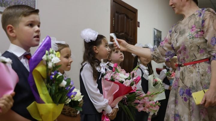 «А вам померили температуру?»: как в Самарской области прошел ковидный День знаний