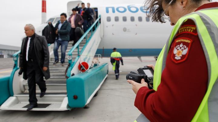 «Большинство зараженных едет из Москвы»: в волгоградском аэропорту отслеживают столичные рейсы