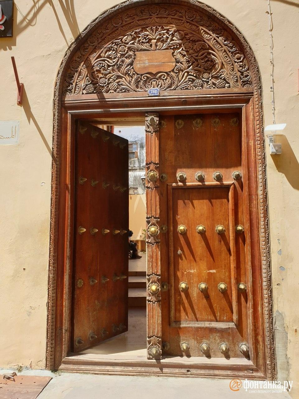 Одна из антислоновых дверей