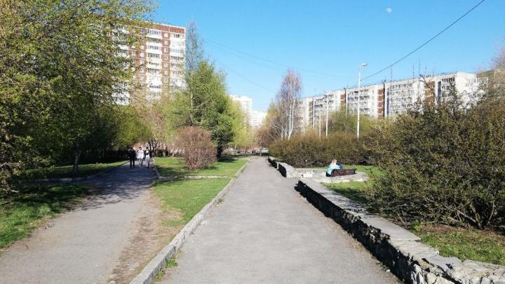 Из-за коронавируса Верх-Исетский район останется без ремонта скверов