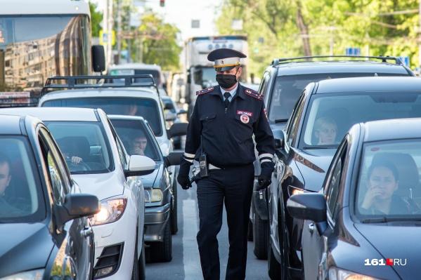 Полицейские задержали нарушителя в Новочеркасске