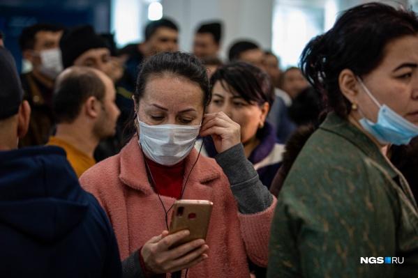 Число заболевших в стране резко возросло 25 марта
