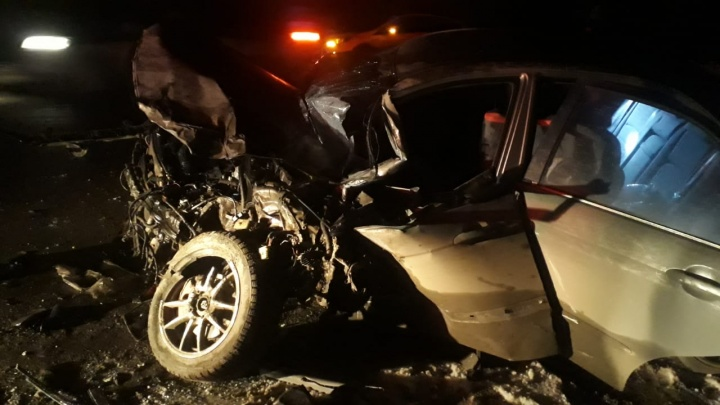 На трассе под Екатеринбургом водитель-новичок устроила ДТП, в котором пострадал ее 4-летний сын