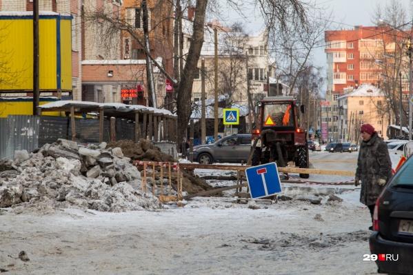 Ремонты на коммунальных сетях — это не только отключение воды и света, но и непролазные улицы