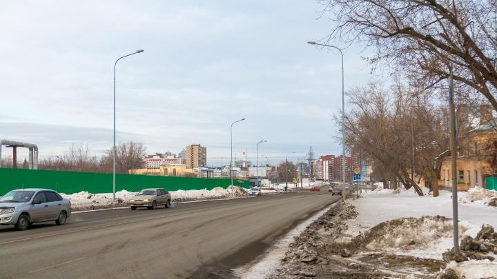 В Самаре подрядчика обязали устранить недостатки реконструкции улицы Луначарского