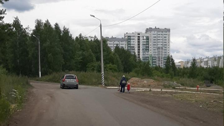 В Челябинске из-за строительства двух дорог между микрорайонами спилят 2000 деревьев