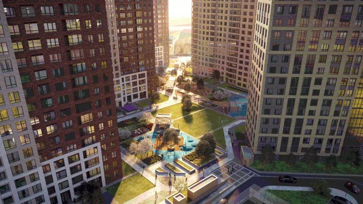 В новом центре города возводят комплекс — для жителей сделают специальный выезд на Кирова и парковую зону