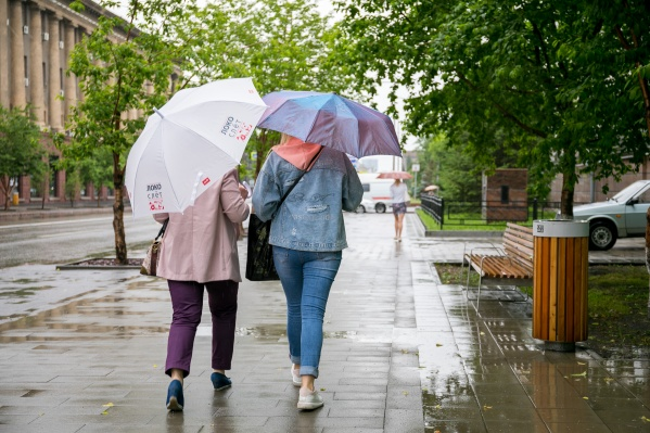 Красноярцев ожидают дожди и резкое похолодание