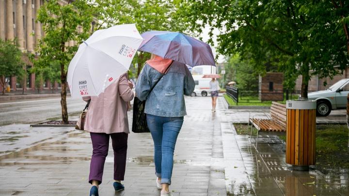 Красноярцев ожидает резкое похолодание и дожди