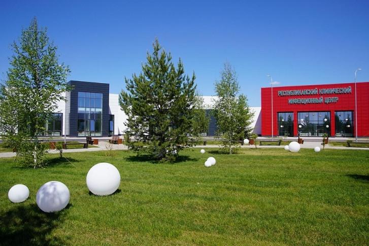 Башкирский инфекционный госпиталь начали строить в конце марта и сдали 30 мая