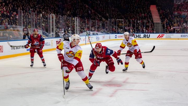 «Локомотив» переиграл «Йокерит» и продолжит борьбу за выход в четвертьфинал плей-офф